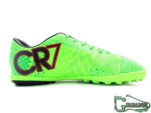 Фото ФУТБОЛЬНАЯ ОБУВЬ, СОРОКОНОЖКИ (МНОГОШИПОВКИ) Сороконожки (многошиповки) Nike Mercurial Victory CR7 (0412)