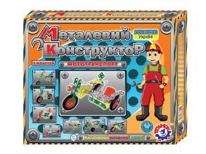 Фото Детские игрушки, Конструкторы, Металлические Конструктор мет.Мототранспорт арт.1394
