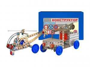 Фото Детские игрушки, Конструкторы, Металлические Конструктор мет. «Авто» арт.0625