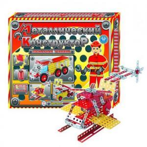 Фото Детские игрушки, Конструкторы, Металлические Конструктор мет. «Пожарная техника» ТехноК арт.2056