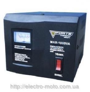 Фото Генераторы, Стабилизаторы напряжения Стабилизатор напряжения FORTE MAX-1000