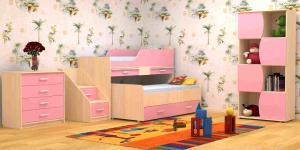Фото Детские Кровать Лесики(2 спальных места)(Пирамида)
