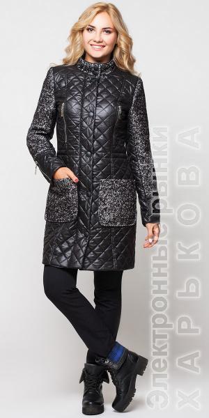 Пальто стеганое купить