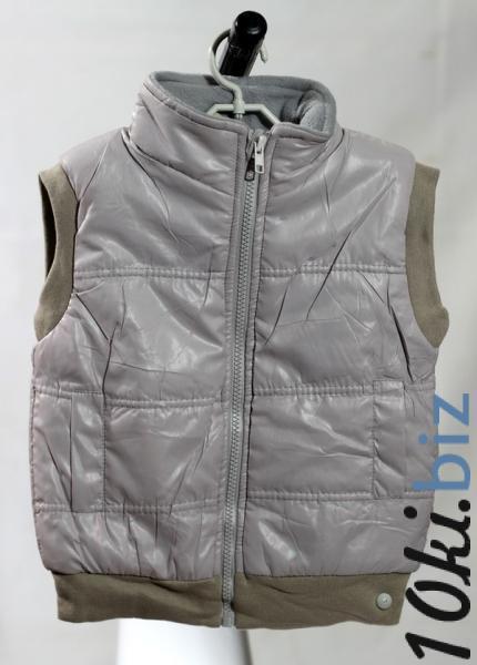 Детская жилетка, Hongjiajia,  18 размер, длина- 42см, ширина-36см, серый, (Китай)   Артикул: 14033718
