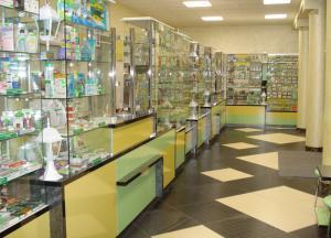 Фото  Торговое оборудование для аптек Витрины торговые