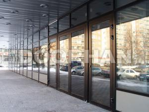 Фото ПРОТИВОПОЖАРНЫЕ светопрозрачные ( из стекла ) металлоконструкции