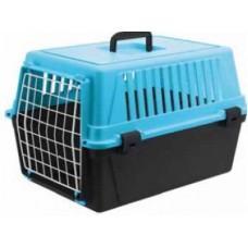Фото Товары для котов, Пластиковые переноски Ferplast ATLAS 10 EL Переноска с металлической дверью