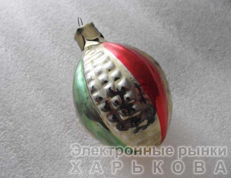 Елочная игрушка СССР «08»