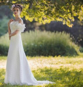 Фото Свадебные платья Рустик