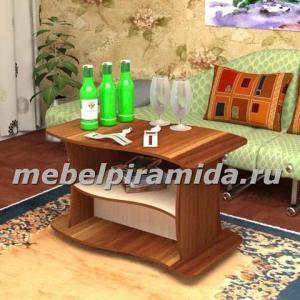 Фото Столы журнальные, столы-тумбы Журнальный стол Волна(Пирамида)