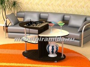 Фото Столы журнальные, столы-тумбы Журнальный стол Сателлит(Пирамида)