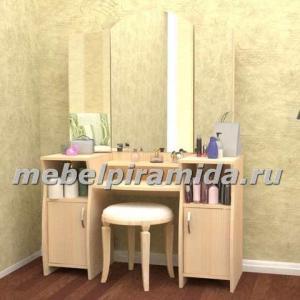 Фото Столы журнальные, столы-тумбы Туалетный столик Галант-4(Пирамида)