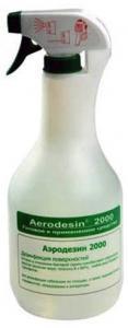 Аэродезин 2000. 1000мл с распылителем