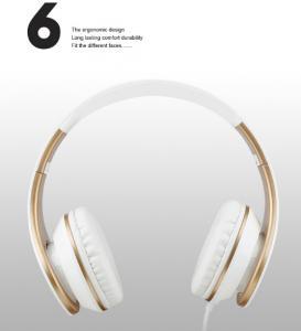 Фото Наушники Гарнитуры Sound Intone I65 наушники с микрофоном и регулятором громкости складная гарнитура для iPhone iPad ipod и Android устройств