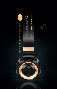 Фото Наушники Гарнитуры Sound Intone P6 Беспроводная Гарнитура Bluetooth Наушники с микрофоном Поддержка карты памяти Fm-радио