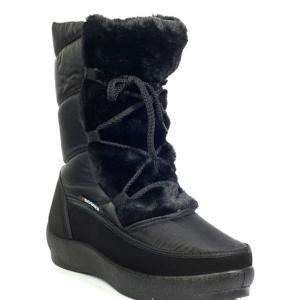 Фото Зимняя обувь Дутые полусапожки