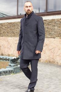 Фото Верхняя одежда Пальто мужское Aldo серое