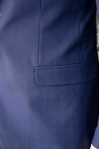 Фото Костюмы Костюм мужской синий в мелкую клетку