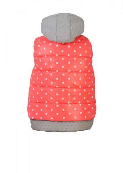 Фото Демисезонная одежда для детей, Куртки и жилетки для девочек ЖЕЛЕТКА ДЛЯ ДЕВОЧЕК