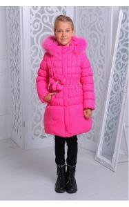 Фото Верхняя одежда (зима) 12231 Куртка ЮЛЯ зима д/дев(малина)