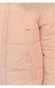 Фото Верхняя одежда (зима) 12146 Куртка ДЖИНА зима д/дев(розовый)