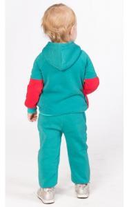 Фото Спортивная одежда УК07 Спорт. костюм утепленный (бирюза+коралл)