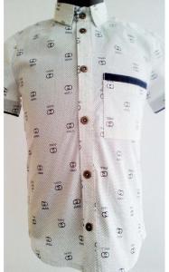 Фото ! РАСПРОДАЖА ! 12102 Рубашка д/мальч ЗАХАР (белый)