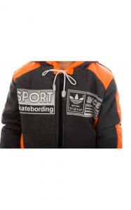 Фото Спортивная одежда 1780 Костюм спортивный ЛЕНЯ д/мал.(т.серый+оранжевый)