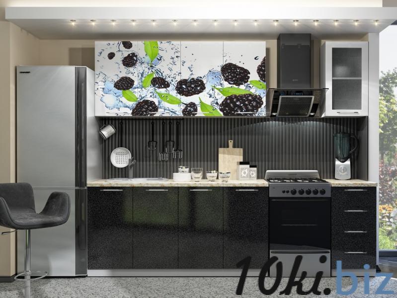 Кухня с Фотопечатью-Ежевика 1,8 м(DCB)