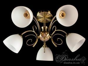 Фото  Классическая люстра на 5 ламп D5739-5