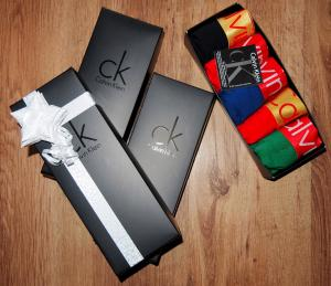 Фото Упаковка Коробка подарочная Calvin Klein чёрная
