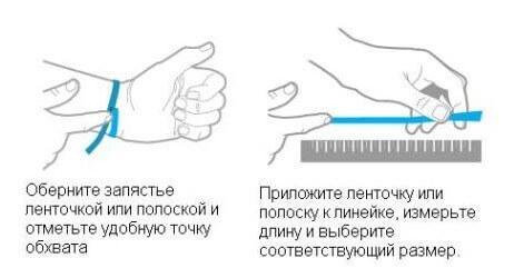 Как с помощью нити узнать свой размер браслета