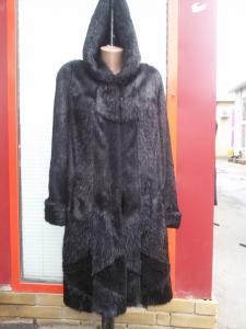 пальто из меха нутрии л-10 024 ароматной эссенции Правильно