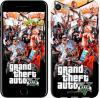 Чехол на iPhone 7 GTA 5. Collage v2