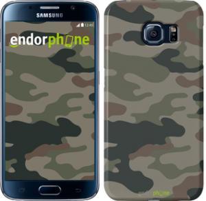 Фото Чехлы для Samsung Galaxy S6 G920 Чехол на Samsung Galaxy S6 G920 Камуфляж v3