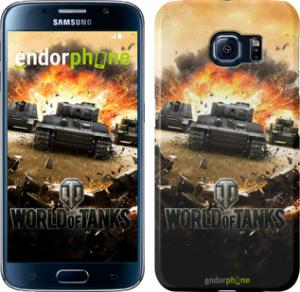 Фото Чехлы для Samsung Galaxy S6 G920 Чехол на Samsung Galaxy S6 G920 World of tanks v1