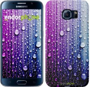 Фото Чехлы для Samsung Galaxy S6 G920 Чехол на Samsung Galaxy S6 G920 Капли воды