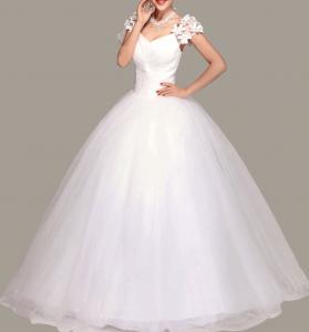 Фото Пышные свадебные платья Нежность