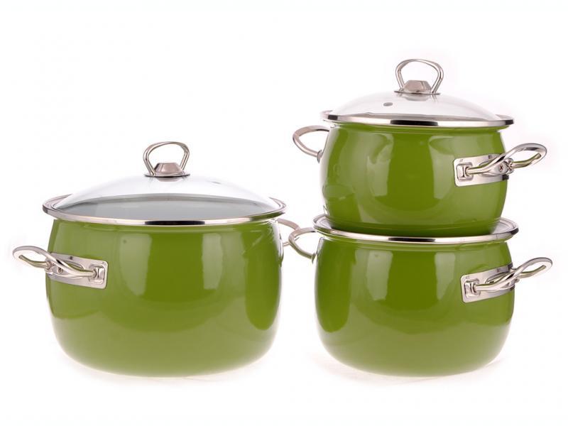 Фото Наборы посуды, Наборы эмалированной посуды Набор № 1600 Вильямс (EPOS)