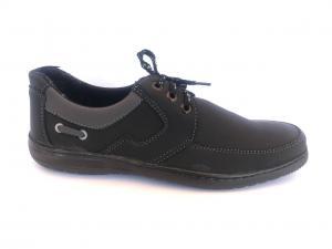 Фото Туфли мужские, Туфли мужские демисизонные Туфли черный на шнурках мужские PERFECT - T-02