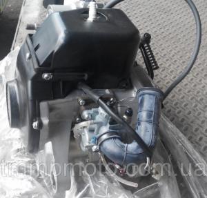 Фото Мото двигатели в сборе для мототехники Двигатель ТВ-60 китаский СУЗУКИ цепной вариатор полный комплект