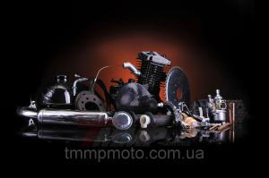 Фото Мото двигатели в сборе для мототехники Веломотор 80 сс чёрный без стартера