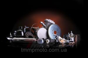 Фото Мото двигатели в сборе для мототехники Веломотор в сборе  80 сс заводского качества без стартера