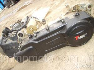 Фото Мото двигатели в сборе для мототехники Двигатель в сборе 150куб 157QMJ (13