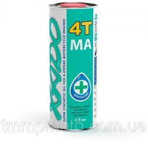 Фото Масла и мотохимия XADO Atomic Oil 10W-40 4T MA SuperSynthetic 1L