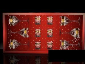 Фото Стеклоизделия, Наборы подарочные Набор с фужерами Бистро рисунок Медальон