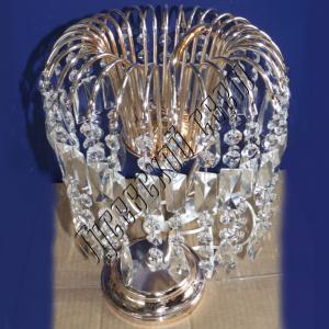 Фото Настольные лампы Хрустальная настольная лампа Каскад Перо