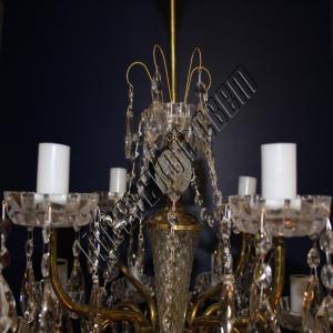 Фото Латунные люстры Латунная люстра Свеча