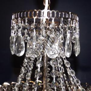 Фото Длинные люстры Хрустальная люстра Водопад с подвесом