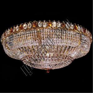Фото Большие люстры Хрустальная люстра Кольцо Купол-2